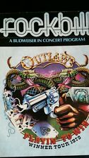"""The Outlaws 1979 Rockbill  Promo 17""""x22""""   ONLY ONE IN STOCK!"""