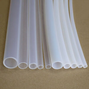 1MM~20MM PTFE Teflon Tubing Pipe ROHS White/Clear
