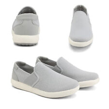 Men's Casual Loafers Shoes Slip On Breathable Sneakers Walking Shoes Size US