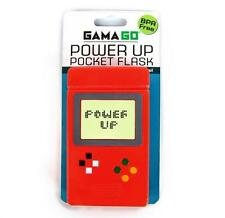 GamaGo, Power Up Pocket Flask - Retro Video Game Drinks Flask