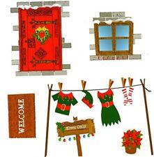 ELFI House da parete adesivi NATALE OSÉ angolo di elfo Novità Accessori 524033