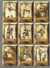 1996 RINGSIDE BOXING 15 CARD HALL OF FAME COMPLETE SUB SET HAGLER-LISTON-PEP