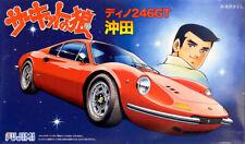Ferrari Dino 246 GT The Circuit Wolf Okita 1:24 Model Kit Bausatz Fujimi 170077
