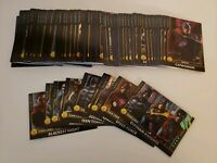 NEW Dave & Busters Injustice Arcade Gods Among Us FULL SET HOLOFOIL cards 1-110