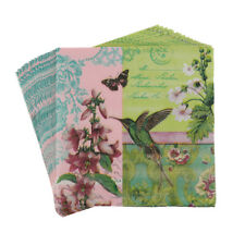 20pcs floral bird paper napkins wedding party birthday decoration supplies PE
