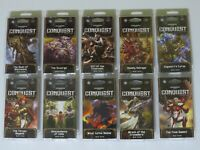 Warhammer 40k 10x War Pack 600 cards NEW Conquest Living Card Game LCG 40,000