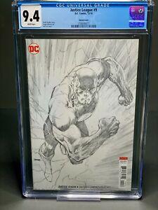 Justice League #9 Jim Lee Flash sketch Variant Batman Superman