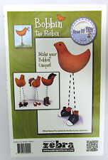 Row by Row 2015 Bobbin the Robin Official Mascot Pin Cushion Sold by the Pattern