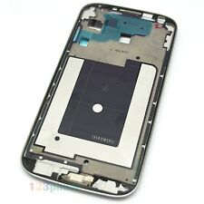 WHITE HOME + FRONT MIDDLE FRAME CHASSIS HOUSING FOR SAMSUNG GALAXY S4 i9500
