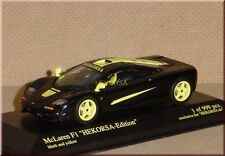 McLaren F1 roadcar - schwarz / gelb - black / yellow - Minichamps - 1:43 - LE