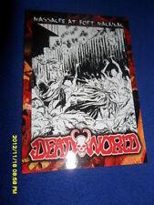2012 BREYGENT DEAD WORLD ZOMBIE CARD #30 & 31 SHOWDOWN AND MASSACRE