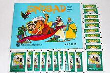 Americana Sinbad di 1978, ALBUM VUOTO EMPTY ALBUM + 20 cartocci packets RARO RARE
