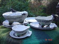 Vintage  Rare Bordallo Pinheiro Oyster Tureen Set