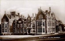 Dalby Hall, Melton Mowbray.
