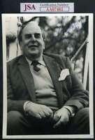 Robert Morley Jsa Coa Hand Signed 5x7 Photo Autograph Authentic