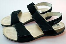 Retail $200 - Mephisto Agave Sandal - Black Bucksoft - US 11 B