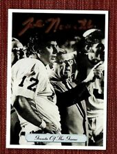 1992 All World Greats of the Game #267 Autographed Joe Namath Jets Card with COA