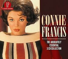 Absolutely Essential 3cd Collection - Connie Francis (2017, CD NEUF)
