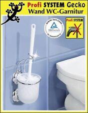 WENKO WC Garnitur MIT oder OHNE Bohren Toilettenbürste Klobürste WC Bürste NEU
