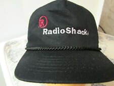 Promotional Radio Shack Black Baseball Hat