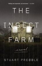 The Insect Farm-Stuart Prebble-2015 Thriller-hardcover/dust jacket