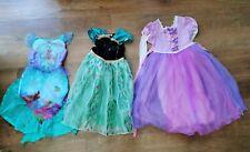 Girls princess disney dress up bundle ages 5-7 Yrs Anna, Rapunzel, Ariel