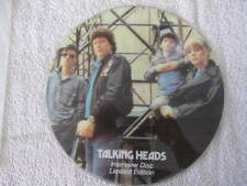 "TALKING HEADS INTERVIEW DISC LIMITED EDITION VINYL LP 12"" RECORD"