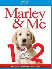 Marley and Me 1  2 (Blu-ray Disc, 2013) New