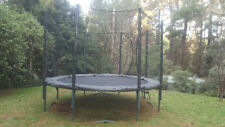 Trampoline - ALLEYOOP 12 foot Variable Bounce with Enclosure