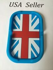 Car Non-slip Mat Dashboard Phone Holder Mat Auto Anti-Slip Design British Flag