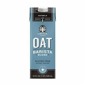 Califia Farms Oat Barista Blend 32 fl oz Organic New