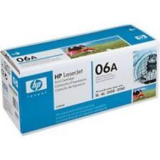 Lot of 2 HP C3906A 06A Genuine NEW Toner Cartridges NEW