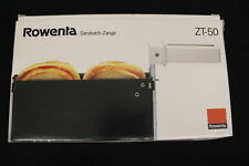 NIB ROWENTA ZT-50 Sandwich Toaster Accessory For COOL TOUCH Toaster