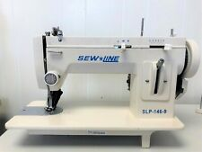 "Sewline New 146-9 Walking Foot 9"" Zig Zag + Extras Industrial Sewing Machine"