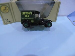 MATCHBOX YESTERYEAR Y5 N/L VAR TALBOT LIPTONS 4 LIGHT GREEN WHEELS 1 OLIVE WHEEL