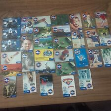 32 COLLECTIBLE PHONE PREPAID CARDS FROM VENEZUELA MOVISTAR UNICA MOVILNET