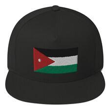 Hashemite Kingdom Of Jordan Flag Jordanian Flag Arabic Flag Arabic Snapback Hat