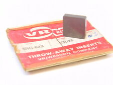 NEW SURPLUS 1PC. VR/WESSON SNG 633  GRADE: VR75 CARBIDE INSERT