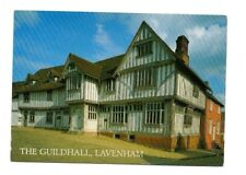Suffolk - Lavenham,The Guildhall - Postcard Franked 2000