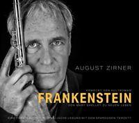 AUGUST ZIRNER - FRANKENSTEIN;LESUNG, SPARDOSEN-TERZETT   CD NEU