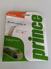 Prince Syn Gut with Duraflex 16 Tennis racket string 1.30mm, 12.2metres