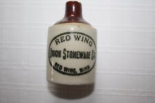 """RED WING UNION STONEWARE CO. TINY MINIATURE JUG ~ CUTE FOR SHELF ~ 3"""" X 2"""""""