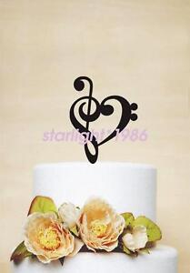 Acrylic Anniversary Birthday Wedding Cake Topper Romantic Gift Quality New