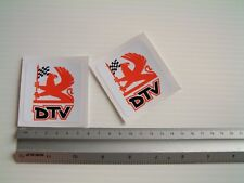 Vauxhall DTV Decal Sticker Dealer Team Classic retro Toolbox Vehicle 1 pair
