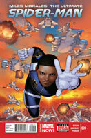 Miles Morales: The Ultimate Spider-Man #9 Marvel comics 1ST PRINT