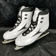 Lake Placid Imperial Elite Womens Figure Skates White Size 9 New Without Box