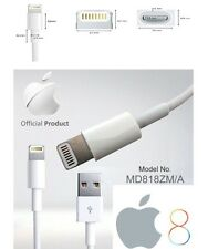 Original 1M Long Genuine iPhone 6 5 5s 5c 6plus iPod USB Charging Cable Lead UK