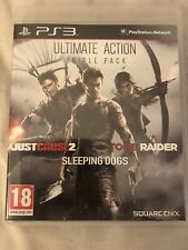 Ultimate Action Triple Pack (PS3) 3 GAMES IN 1 Disc!
