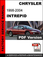CHRYSLER INTREPID 1998 1999 2000 2001 2002 2003 2004 SERVICE REPAIR MANUAL