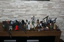 Star Wars Bundle - Figures, Ships, Vehicles - Millennium Falcon, TIE